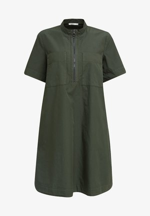 Day dress - khaki green