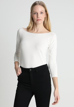 FLOW OPEN - Long sleeved top - off white