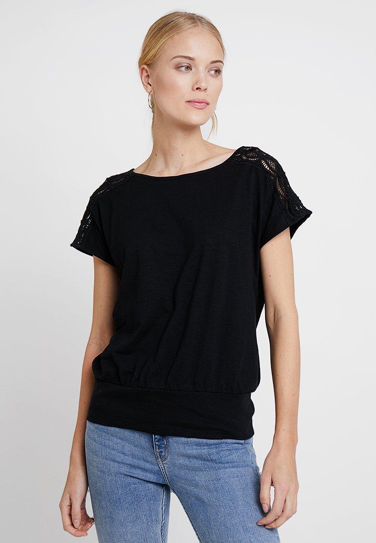 edc by Esprit - TEE - T-Shirt print - black