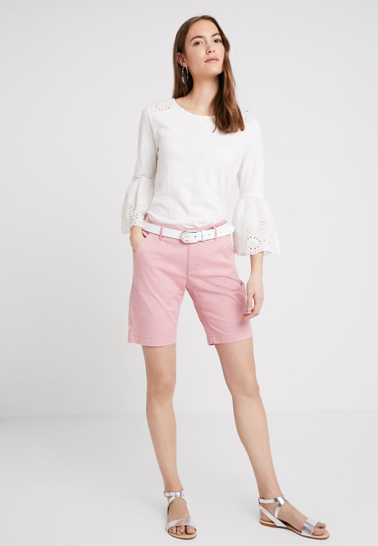 edc by Esprit COLOURBLOCK - Topper langermet - off white
