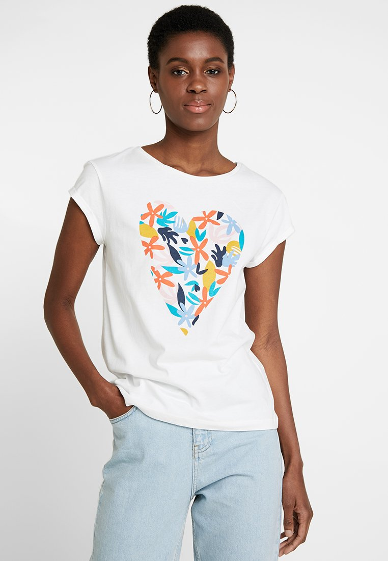 edc by Esprit - T-Shirt print - off white