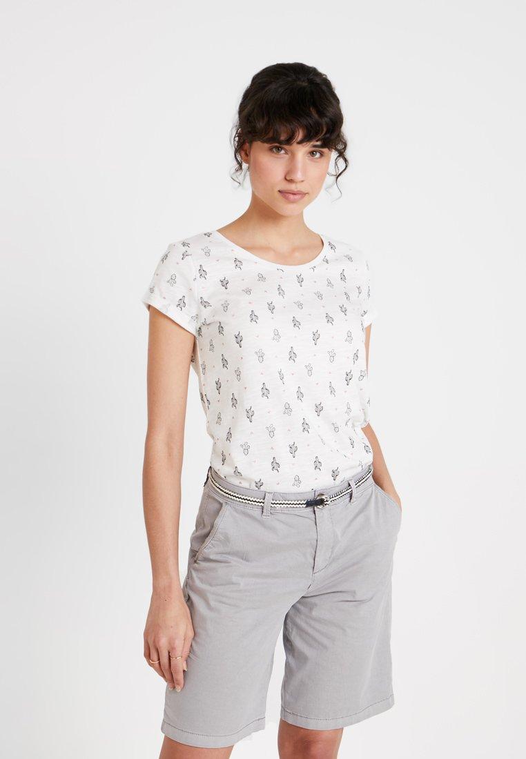 edc by Esprit - Print T-shirt - off white