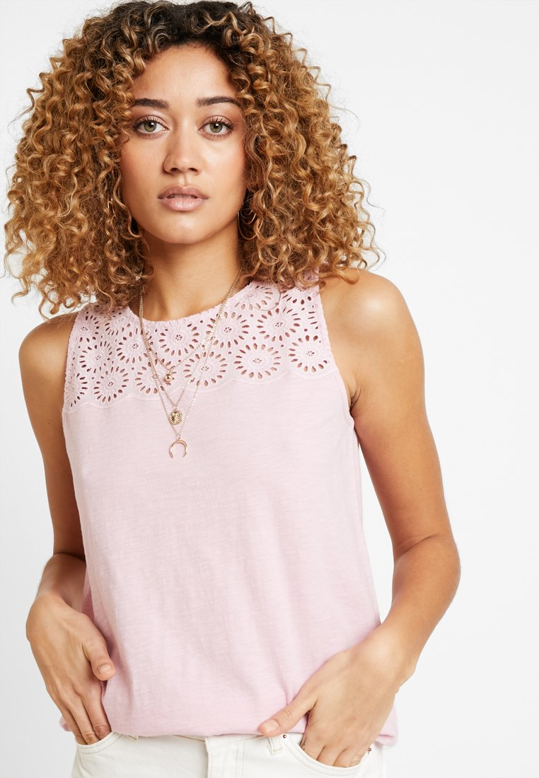 edc by Esprit - FABRIC MIX - Topper - light pink