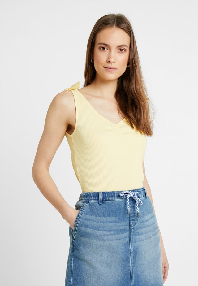KNOT STRAP - Top - light yellow