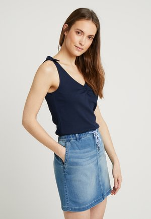 KNOT STRAP - Top - navy