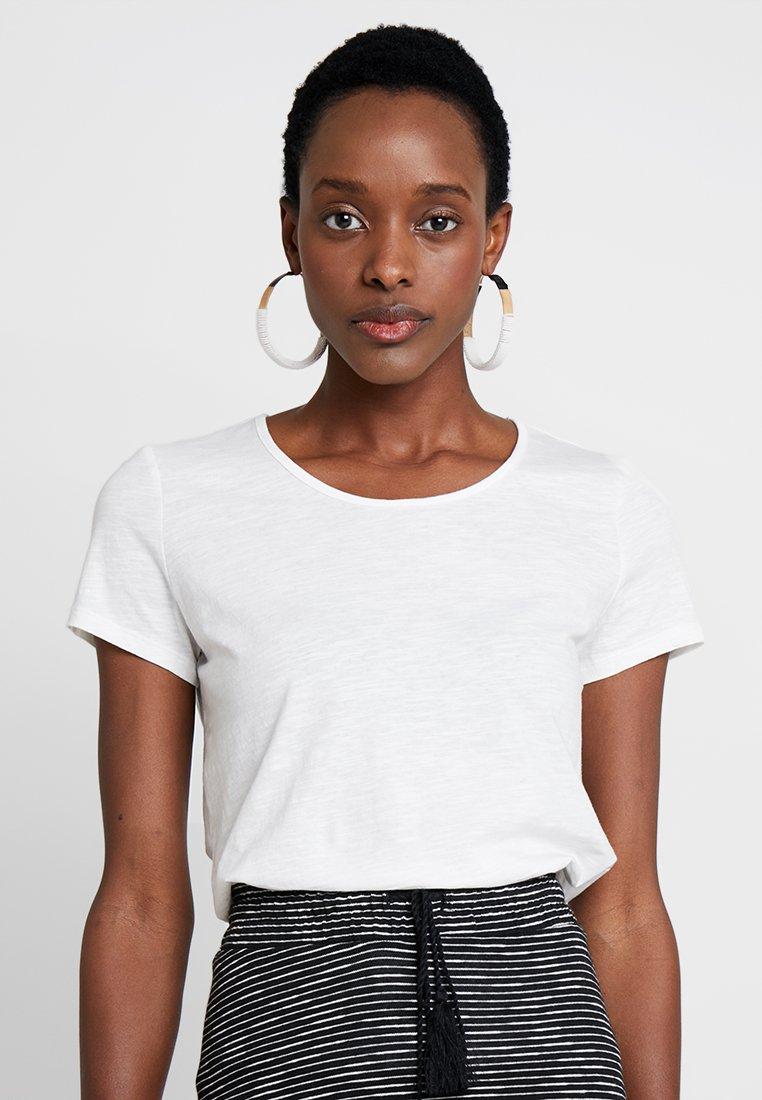 edc by Esprit - OCS BACK DETAIL - T-Shirt print - off white