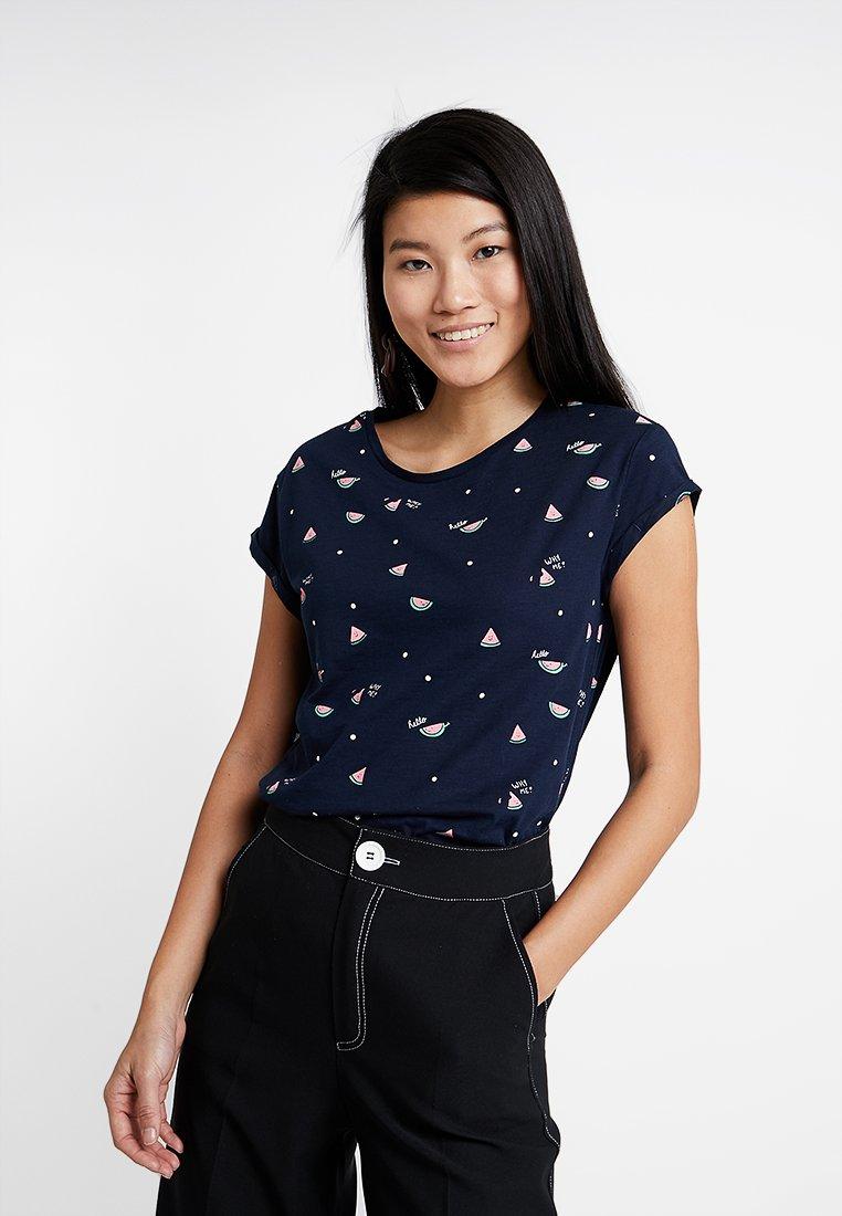edc by Esprit - T-Shirt print - navy