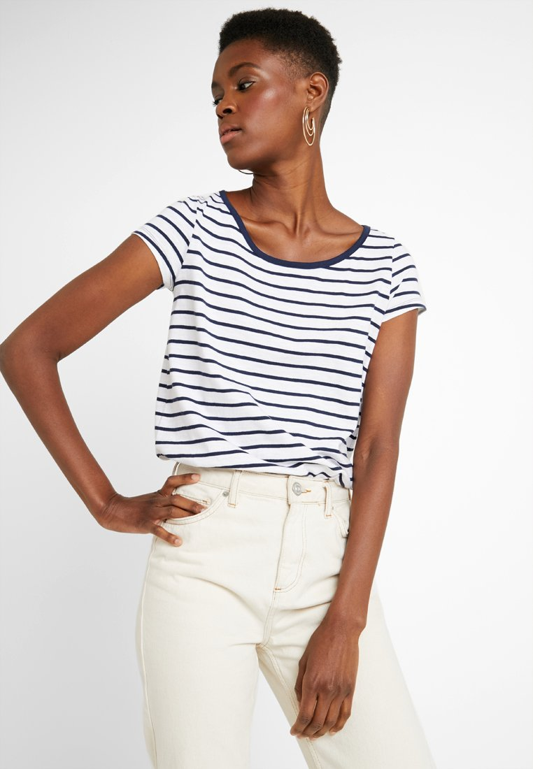 edc by Esprit - BUBBLE - T-Shirt print - navy