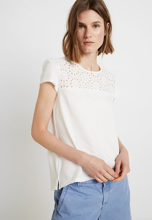 EMBRO ANGLAIS - Print T-shirt - off white