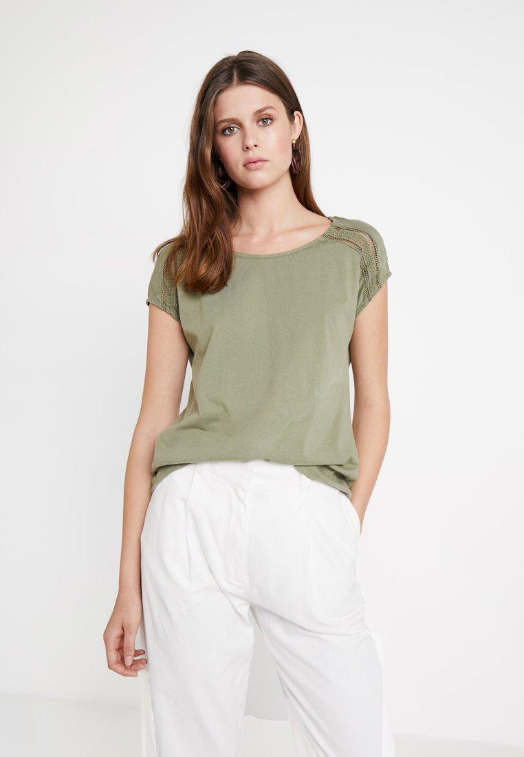 Edc Esprit By shirt Green ImpriméKhaki T eb2YE9WDHI