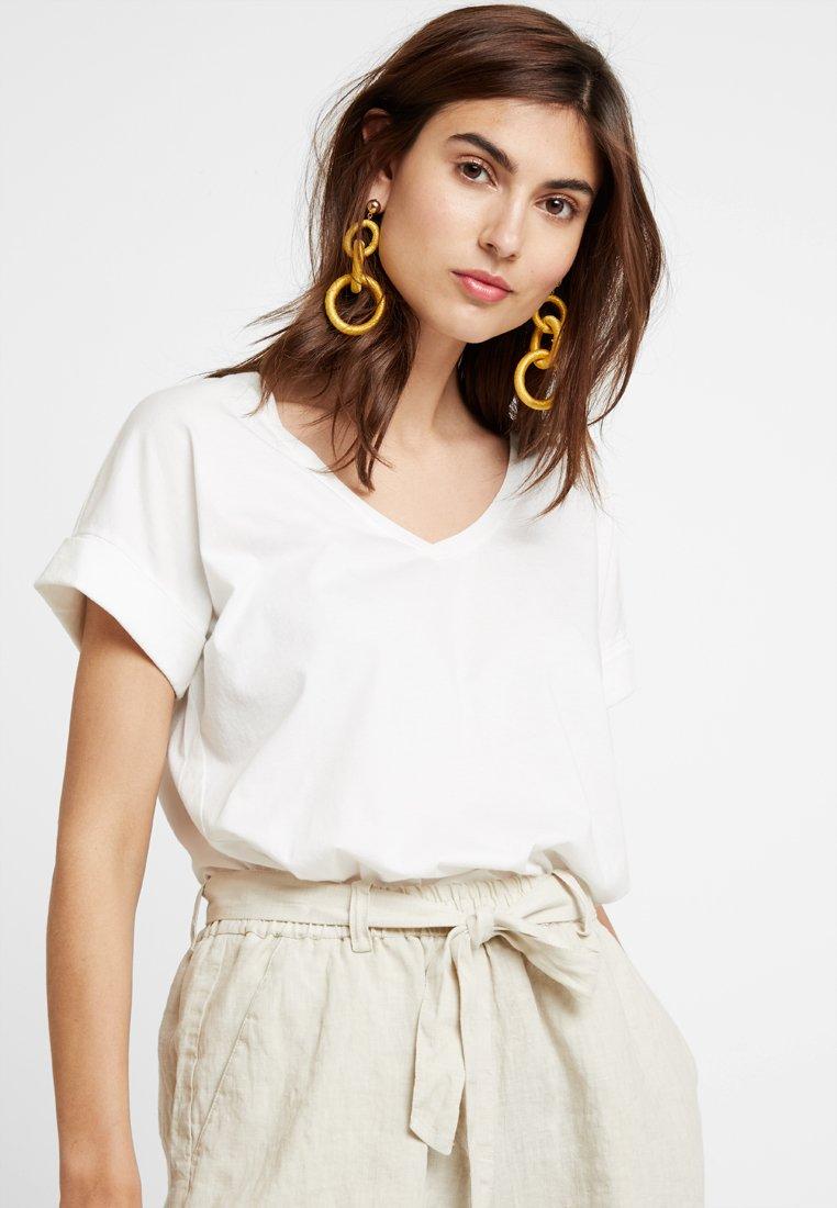 edc by Esprit - T-Shirt basic - off white