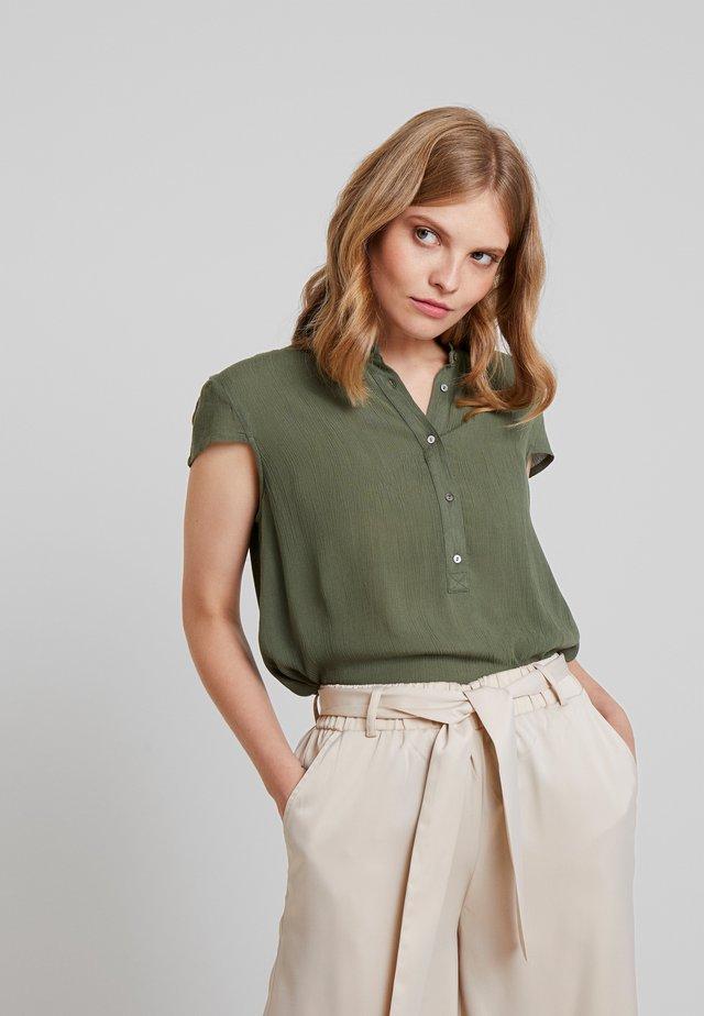 Bluzka - khaki green