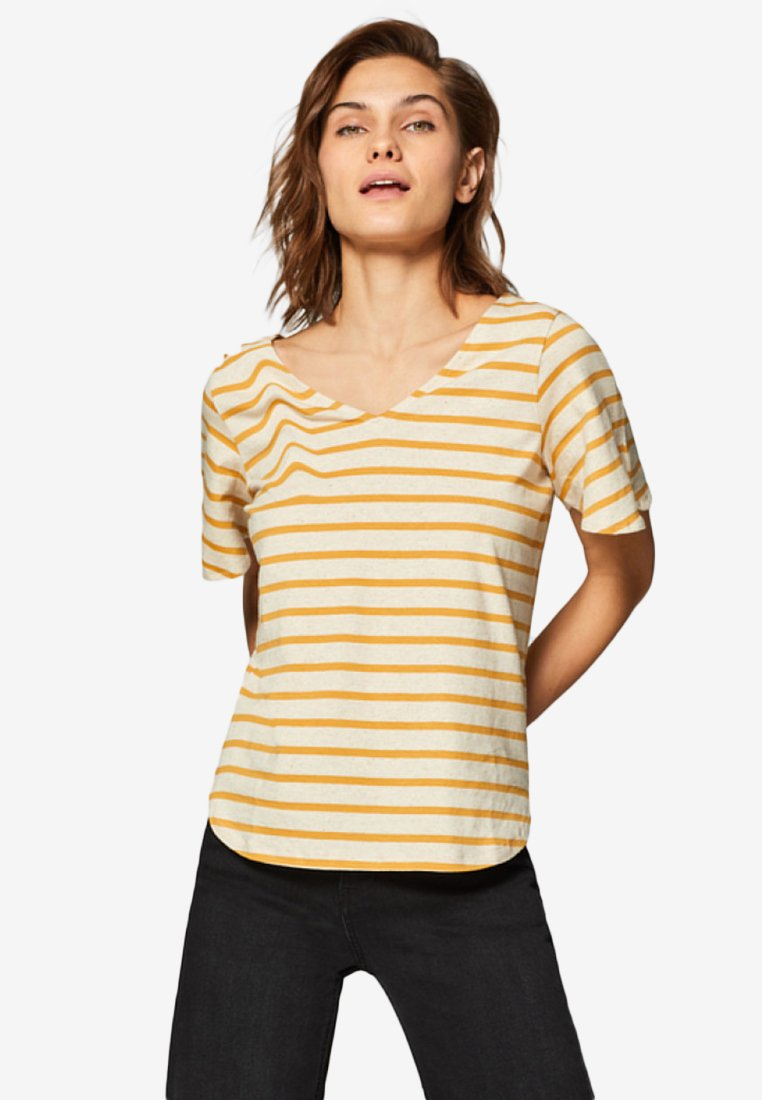 edc by Esprit - Print T-shirt - amber yellow