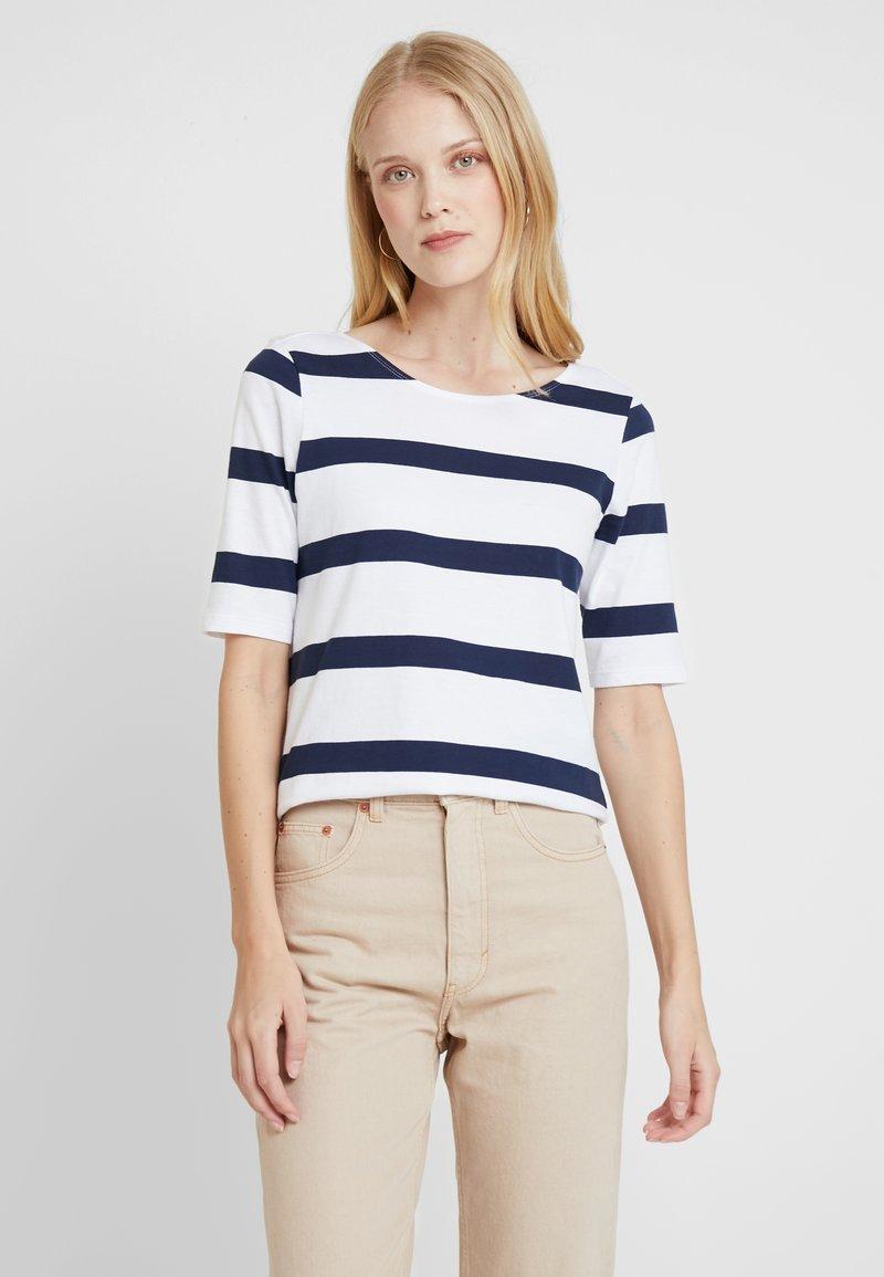 edc by Esprit - STRAP BACK - T-Shirt print - navy
