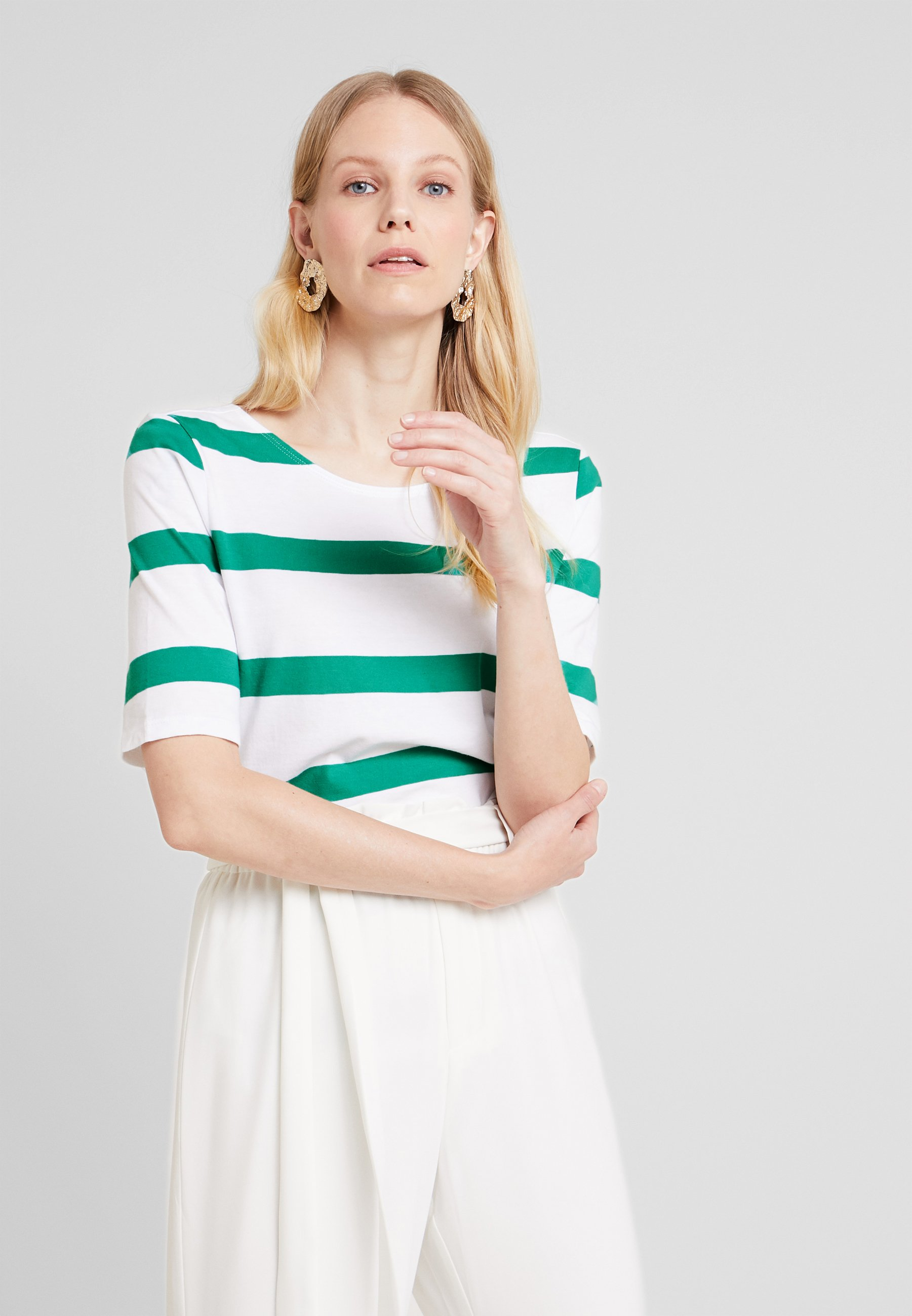 Esprit Imprimé Edc Emerald BackT By Strap shirt Green ED2W9eHIY