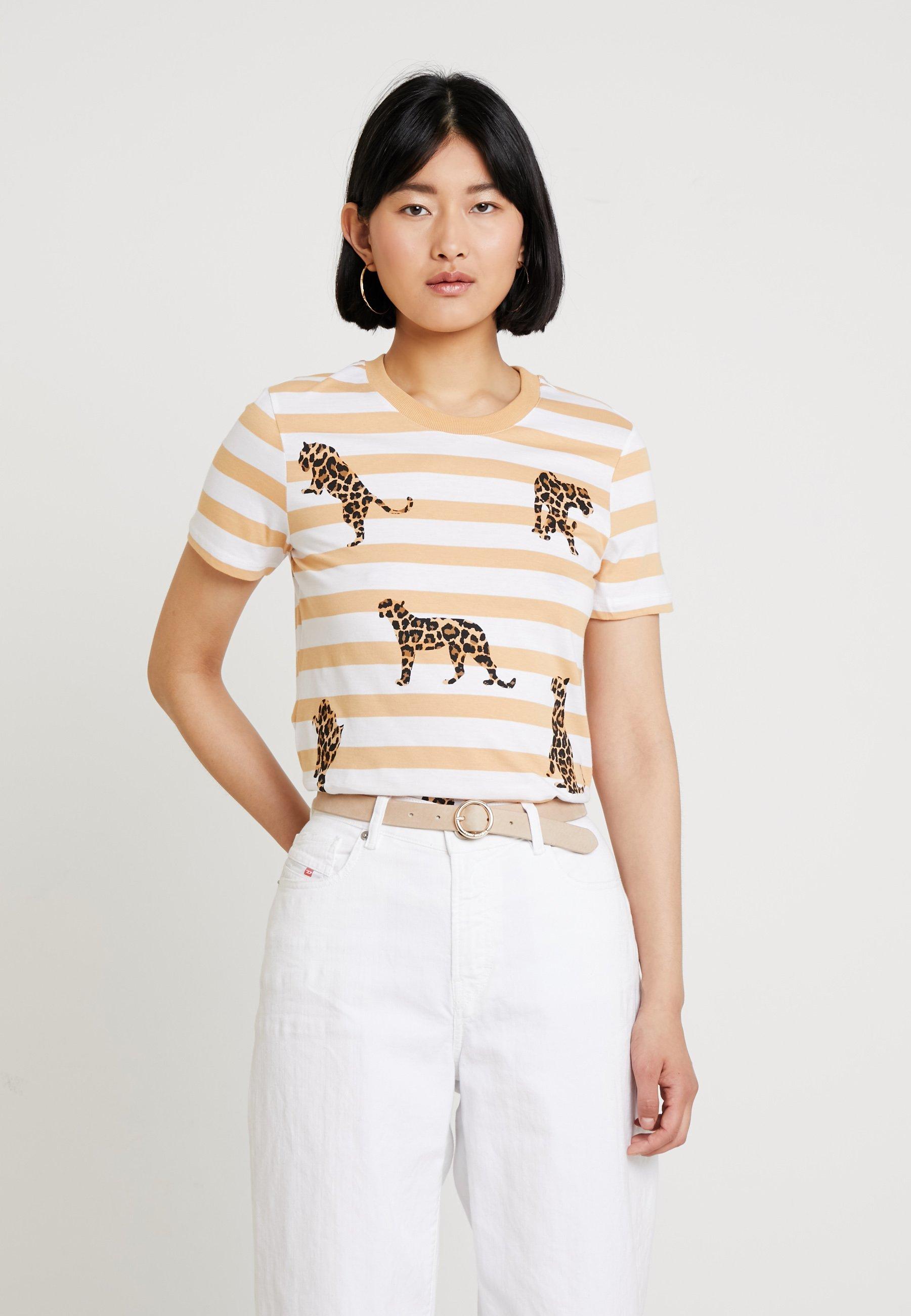 Edc By White Leo Imprimé Esprit WalkT shirt Off shQrdt