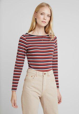 MULTISTRIPES - Maglietta a manica lunga - navy
