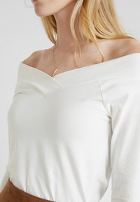 edc by Esprit - CORE FLOW - Long sleeved top - off white - 4