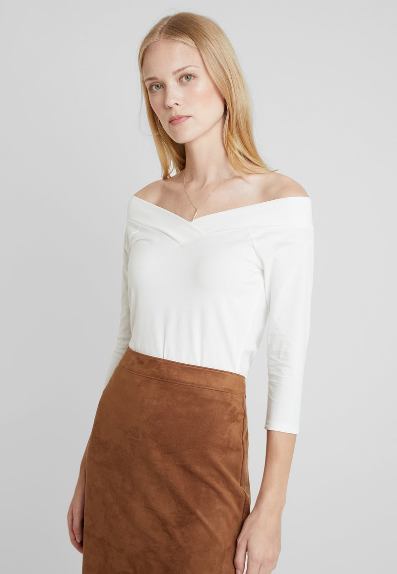 edc by Esprit - CORE FLOW - Long sleeved top - off white