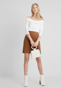 edc by Esprit - CORE FLOW - Long sleeved top - off white - 1