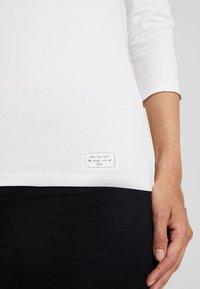 edc by Esprit - CORE FLOW - T-shirt à manches longues - off white - 5