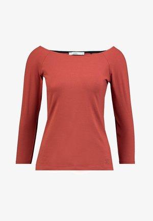 CORE FLOW - Long sleeved top - rust orange