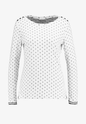 DOUBLE - Bluzka z długim rękawem - off white