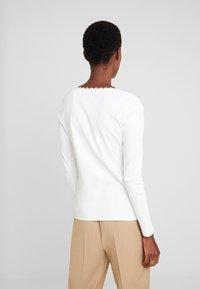 edc by Esprit - CORE FLOW - Maglietta a manica lunga - off white - 2