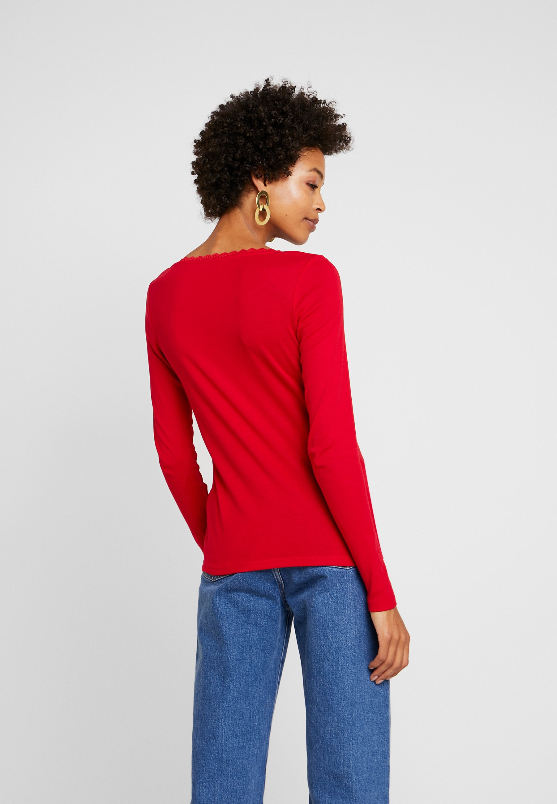 FLOWT Esprit shirt manches red edc longues by CORE à WDIEH29