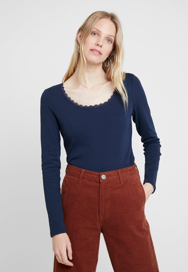 edc by Esprit - CORE FLOW - Maglietta a manica lunga - navy