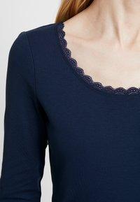 edc by Esprit - CORE FLOW - Maglietta a manica lunga - navy - 4