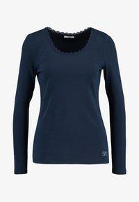 edc by Esprit - CORE FLOW - Maglietta a manica lunga - navy - 3