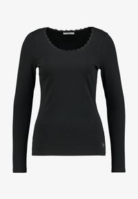 edc by Esprit - CORE FLOW - Long sleeved top - black - 4