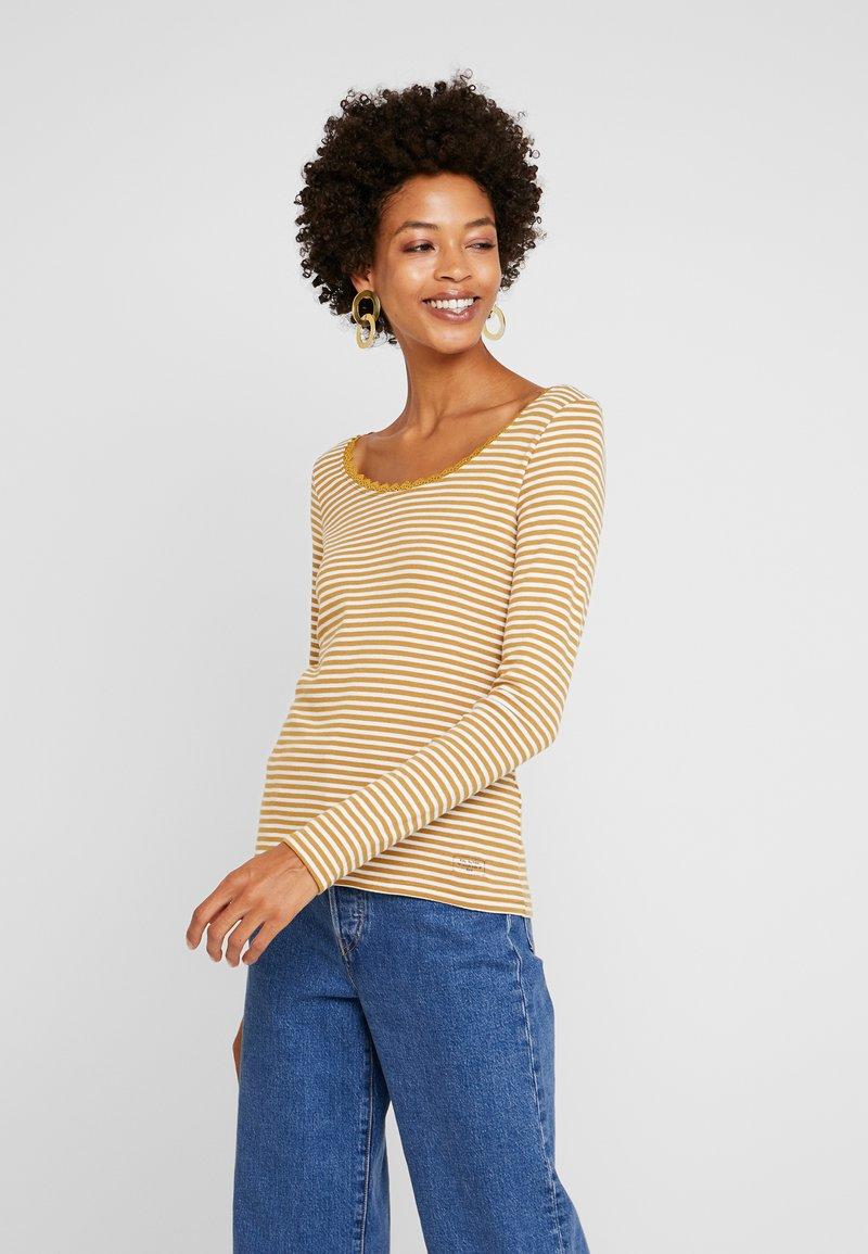 edc by Esprit - CORE FLOW - Langarmshirt - amber yellow