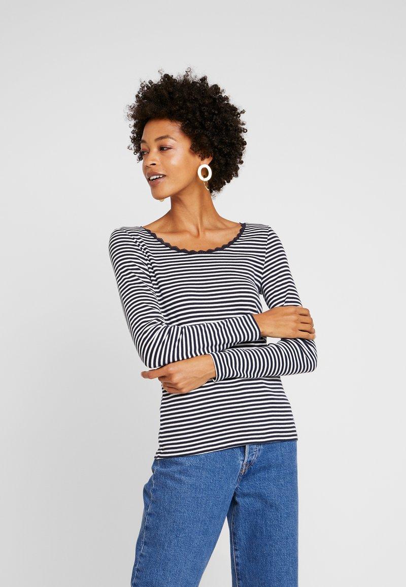 edc by Esprit - CORE FLOW - T-shirt à manches longues - navy