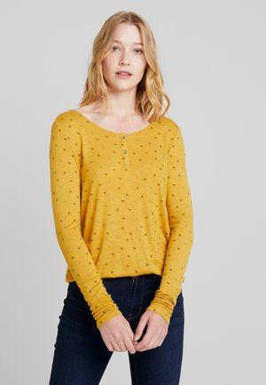 Pitkähihainen paita - honey yellow