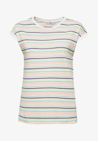 edc by Esprit - MIT MULTICOLOR-STREIFEN IN NEON - T-shirt med print - multi-coloured - 6