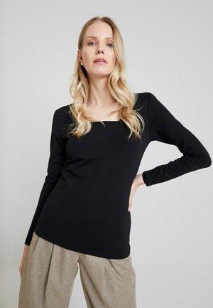 CORE FLOW - Long sleeved top - black