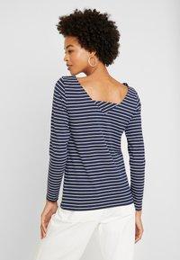 edc by Esprit - FLOW - T-shirt à manches longues - navy - 2