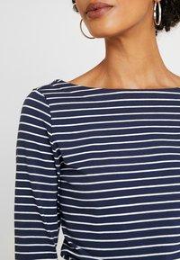 edc by Esprit - FLOW - T-shirt à manches longues - navy - 5