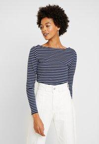 edc by Esprit - FLOW - T-shirt à manches longues - navy - 0