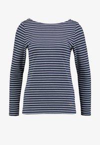 edc by Esprit - FLOW - T-shirt à manches longues - navy - 4