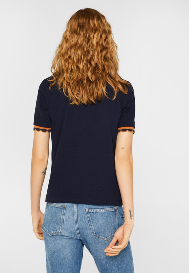 shirt Esprit Edc By Mit Imprimé Navy StrukturT qSMpGUzV