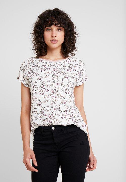 nowy edc by Esprit T-shirt z nadrukiem - off white Koszulki i Topy XBCX-NT5