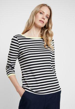LONGSLEEVE STRIPE - T-shirt à manches longues - grey