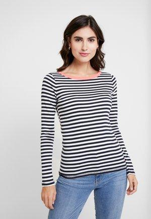 FLOW CONTRA - Camiseta de manga larga - navy
