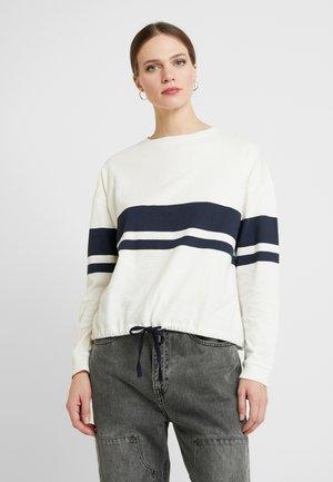 COLOURBLOCK - Maglietta a manica lunga - off white
