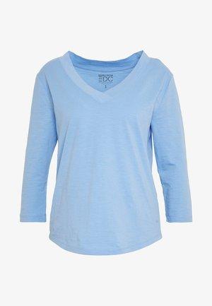 CORE VNECK - Top sdlouhým rukávem - blue lavender