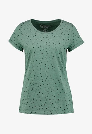 CORE - Print T-shirt - khaki green
