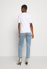 edc by Esprit - CORE HIGH - T-shirts - white - 2